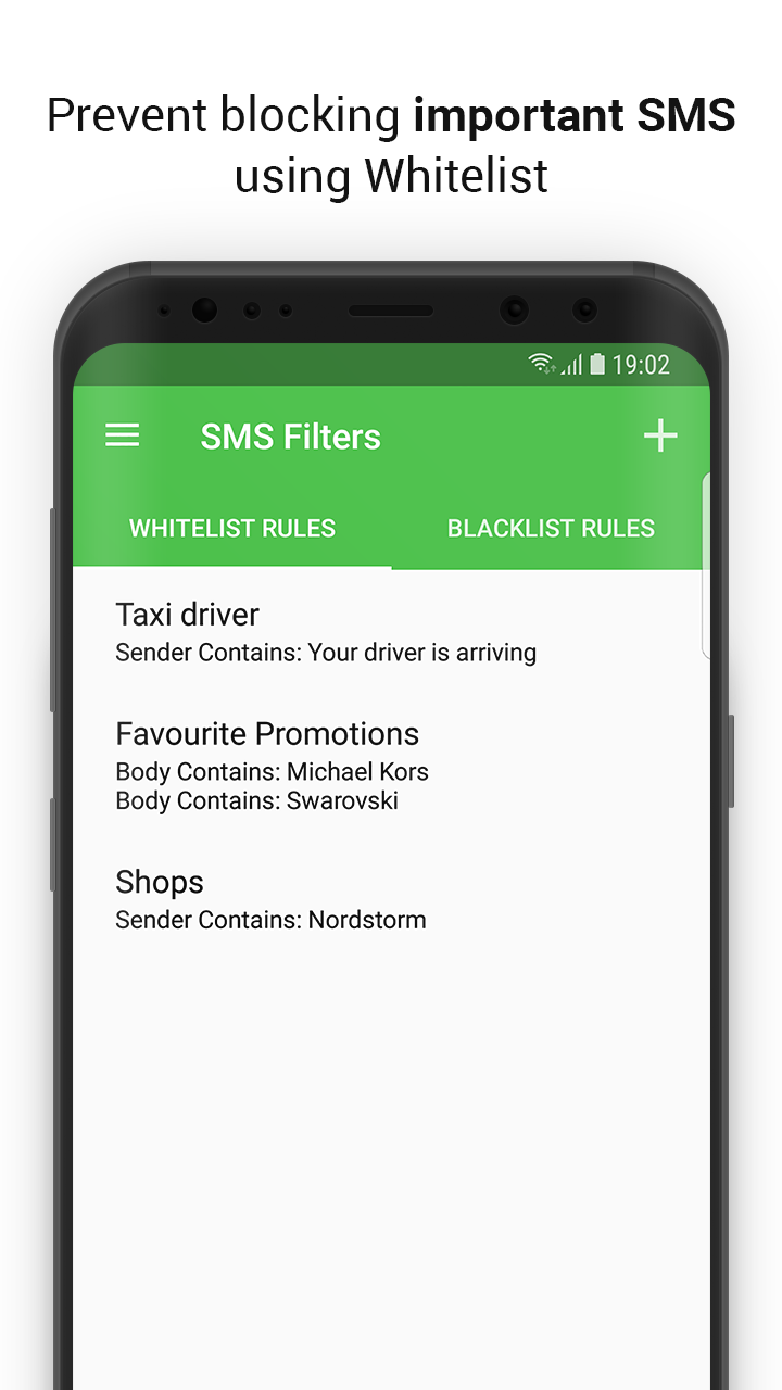 SMS Spam Filter SpamHound - Android and iPhone Text Filter App by